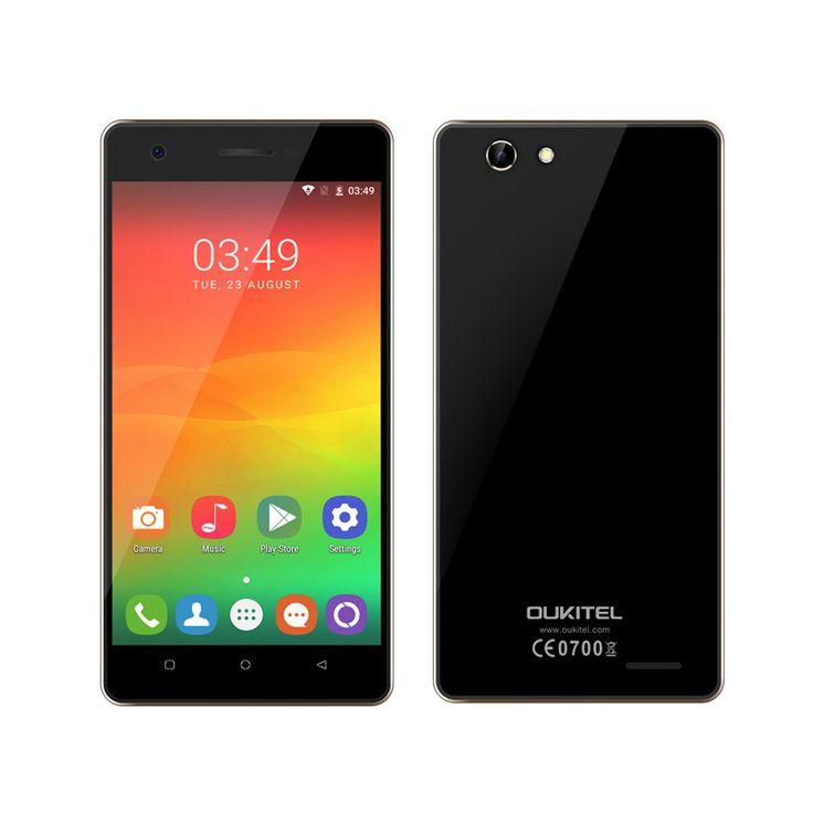 Original Oukitel C4 MT6737 Quad-Core 5.0 inch HD Smartphone Android 6.0…