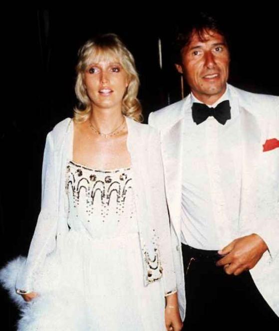 1984: Udo Jürgens mit Freundin Corinna bei den Salzburger Festspielen