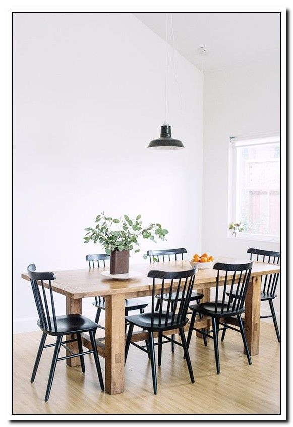 48 Reference Of Black And White Wood Dining Chair Wood Dining Room Table Wood Dining Room Chairs Farmhouse Dining Room Table