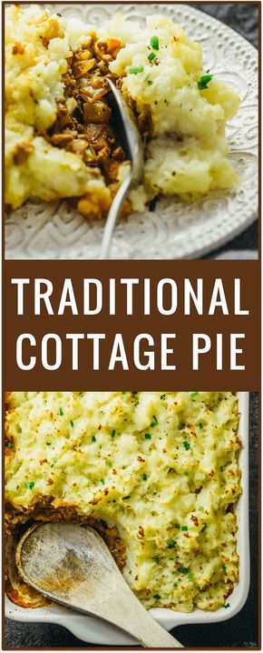 Traditional cottage pie, irish cottage pie, Scottish cottage pie, shepherd's pie recipe, what to serve with cottage pie, easy simple dinner recipe, comfort food via /savory_tooth/