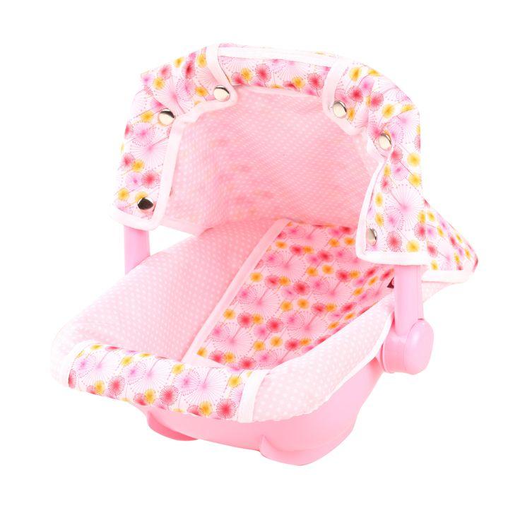 Babytrage Spotted Pink
