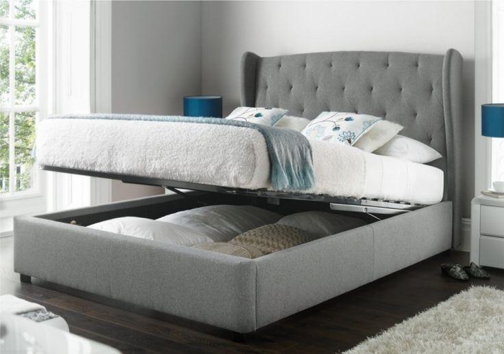 Upholstered Beds Fabric Beds Amp Bed Frames Time 4 Sleep Regarding