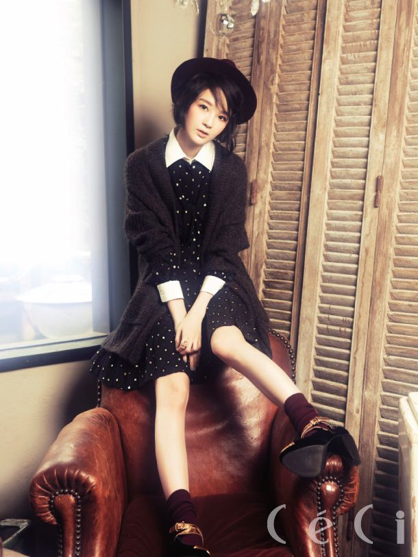 Davichi's Minkyung by Lee Soojin for Ceci Korea Sept 2012