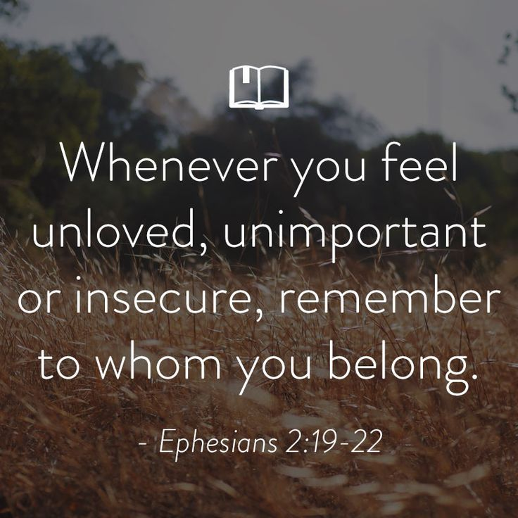 Bible Verse for Women About Feeling Unloved