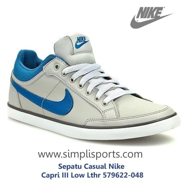 Sepatu Sneakers Casual Nike Capri III Low Lthr ORIGINAL 579622-048 www.simplisports.com http://simplisports.com/Sepatu-Sneakers-Nike-Indonesia/pusat-penjualan-pemasaran-sepatu-sneakers-casual-nike-asli/Sepatu-Sneakers-Casual-Nike-CapriIIILowLthr-579622-048