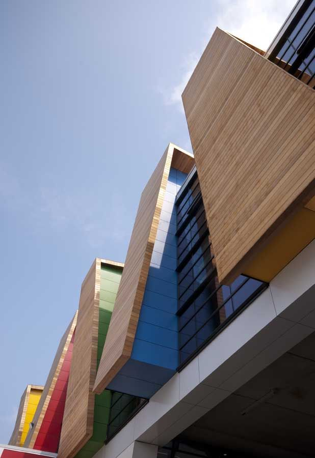 Phoenix High School in Shepherds Bush, Bond Bryan Architects.