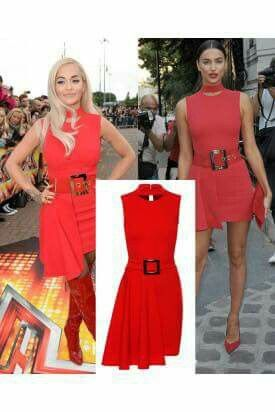 Red Bodycon Dress Now £15.00
