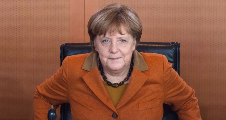 The Leader of the Free World Meets Donald Trump Angela Merkel, whether she wants the job or not, is the West's last, best hope.
