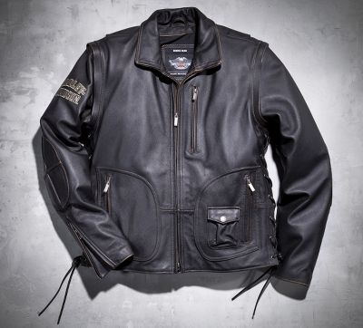 Vintage Leather Jackets Harley Davidson