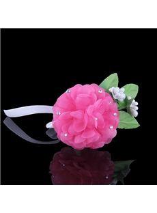 韓国のシルク糸多層DIYのダイヤモンドブレスレット花嫁アクセサリーブレスレットスタイル18