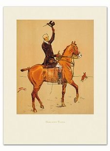 Snaffle Art Print - Hogany Tops Snaffles - Art Prints - By Rosenstiel's at Horse and Hound Gallery
