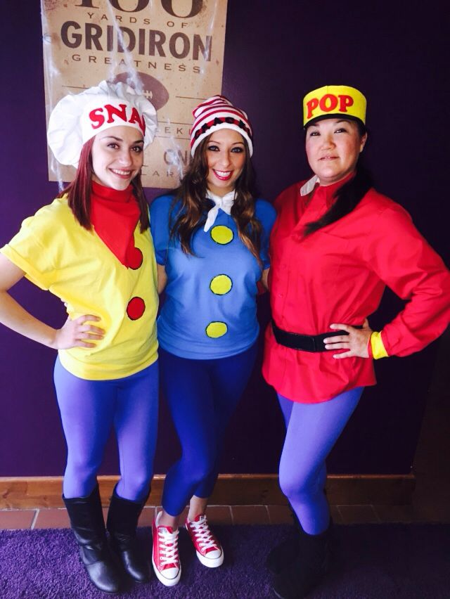 Snap crackle pop costumes