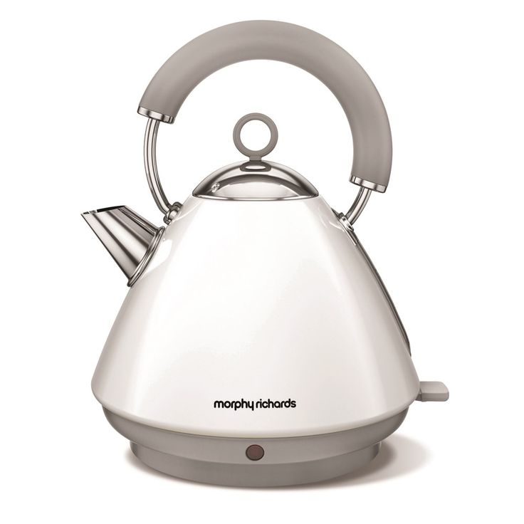 Buy MORPHY RICHARDS Accents 102031 Traditional Kettle - White | Free Delivery | Currys