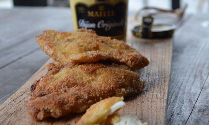 Dijonpaneroidut kuhafileet - Meidän safkaa