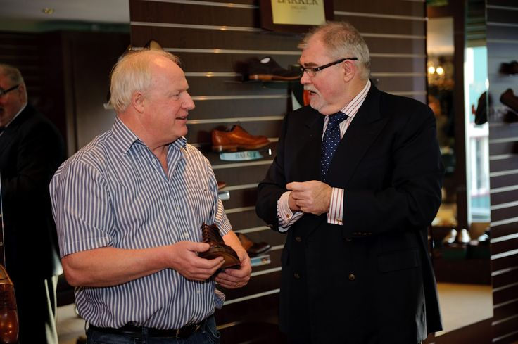 We were delighted to have made a pair of bespoke shoes for Jim Neilly.  Be sure to check out our bespoke service here : http://www.robinsonsshoes.com/bespoke-shoes