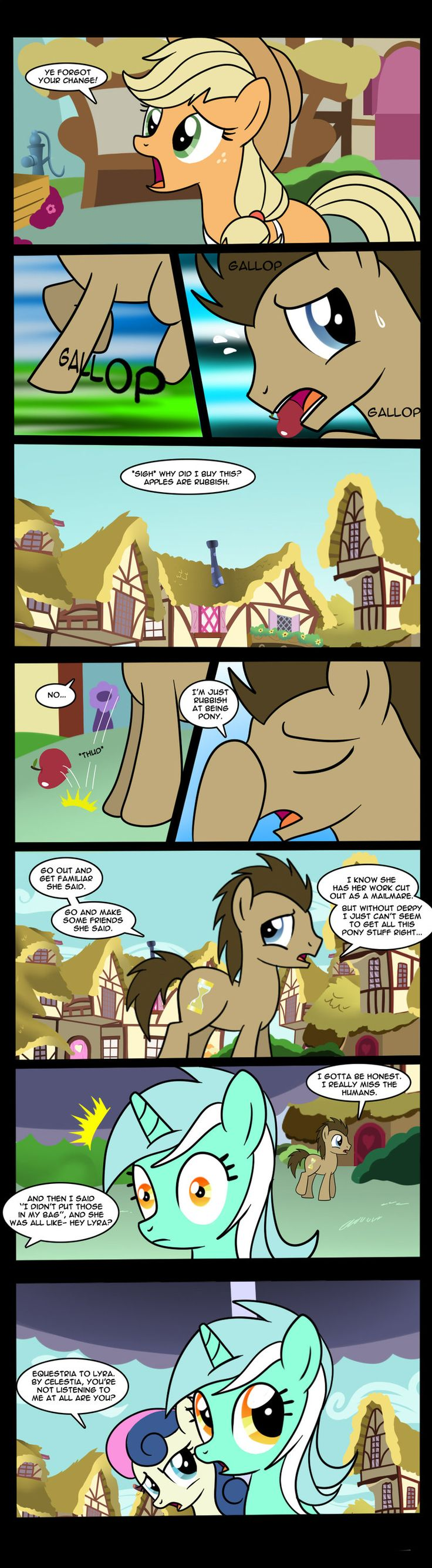 Doctor Whooves-This Is Where It Gets Complicated 1 by Edowaado.deviantart.com on @deviantART