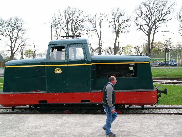 Locomotiva mostrada no Festival do Vapor 2006. Caminhos de Ferro da Baía de Somme, departamento de Somme, região administrativa da Picardia, França.   Fotografia: Claude Shoshany.