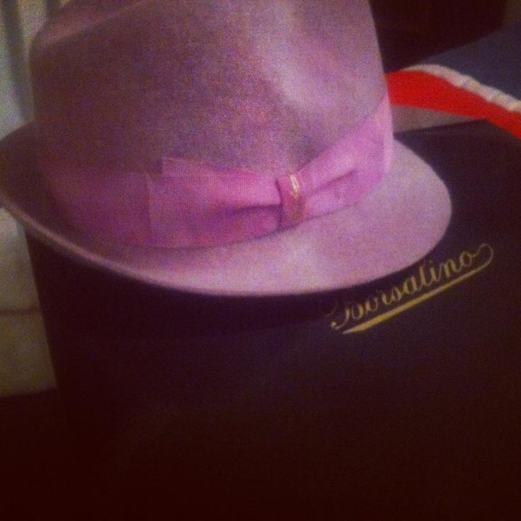 My new Borsalino Hat! #loveit @BORSALINO
