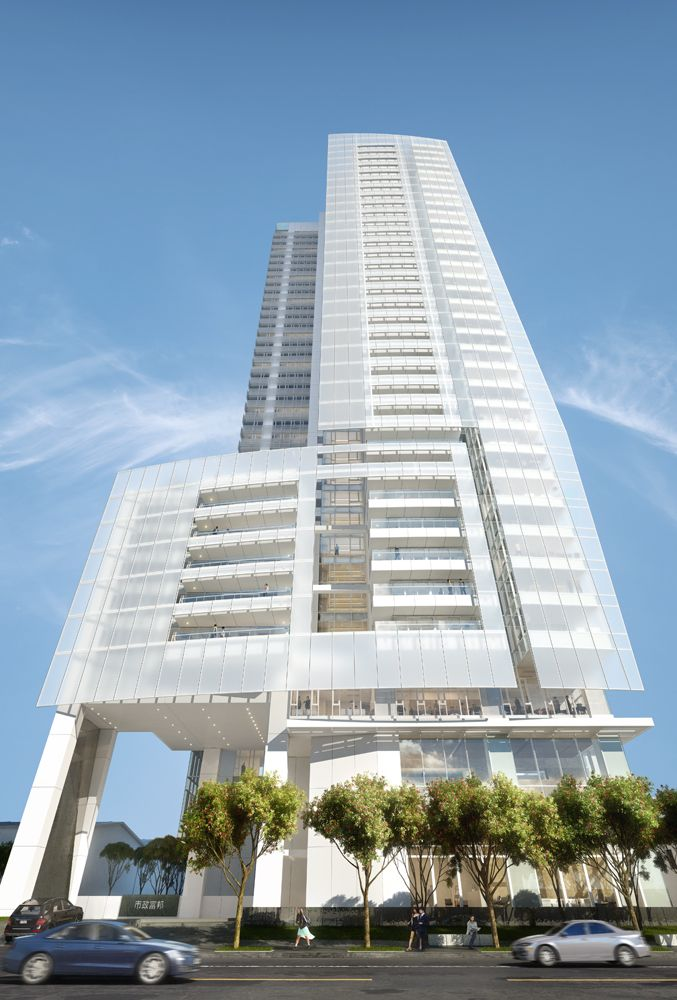 Richard Meier & Partners Unveils Their First Building in Taiwan