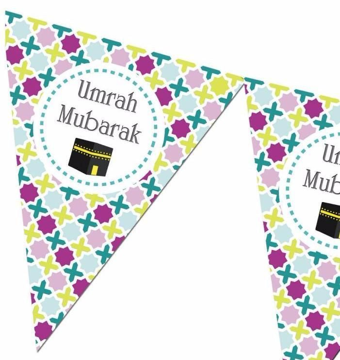 Umrah Mubarak Bunting Kit