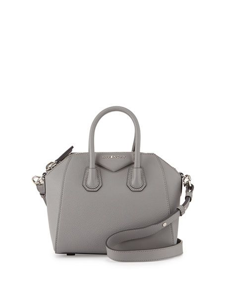 7dd2612539f7 GIVENCHY Antigona Mini Leather Satchel Bag