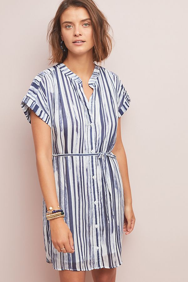 a97f24d6498 Cloth & Stone Riley Striped Shirtdress in 2019   Spring Outfits ...