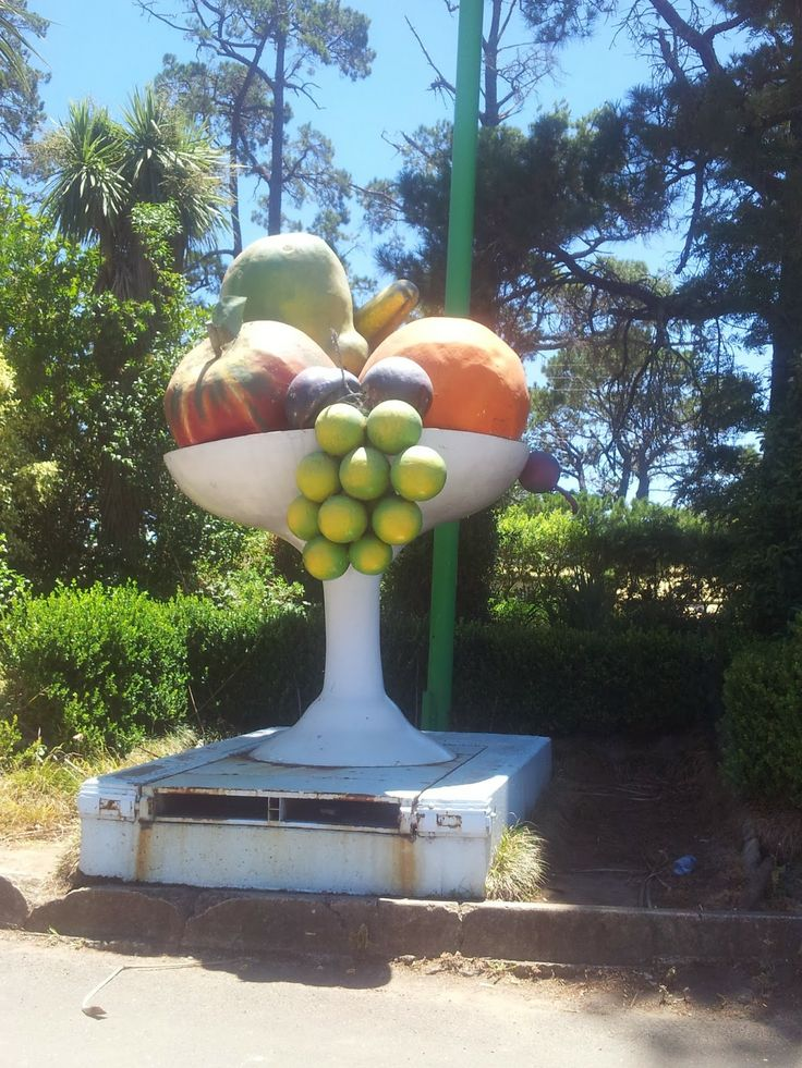 The Big Fruit Bowl  http://jouljet.blogspot.com/2014/03/the-big-axe-and-big-fruit-bowl.html  #Australia #travel #AussieBigThings
