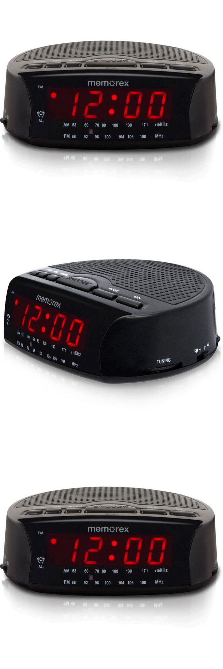 1000 digital wecker pinterest digital clocks and clock radios memorex am fm radio alarm clock electric digital red led fandeluxe Gallery