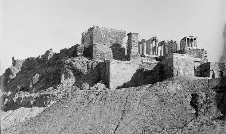 robert Weir Schultz και Sidney Barnsley Αθήνα,η Ακρόπολη 1889.