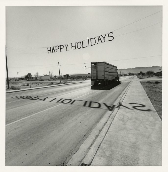 "Texas, 1997 20 x 16"" gelatin-silver print © Lee Friedlander, Courtesy of Janet Borden, Inc."