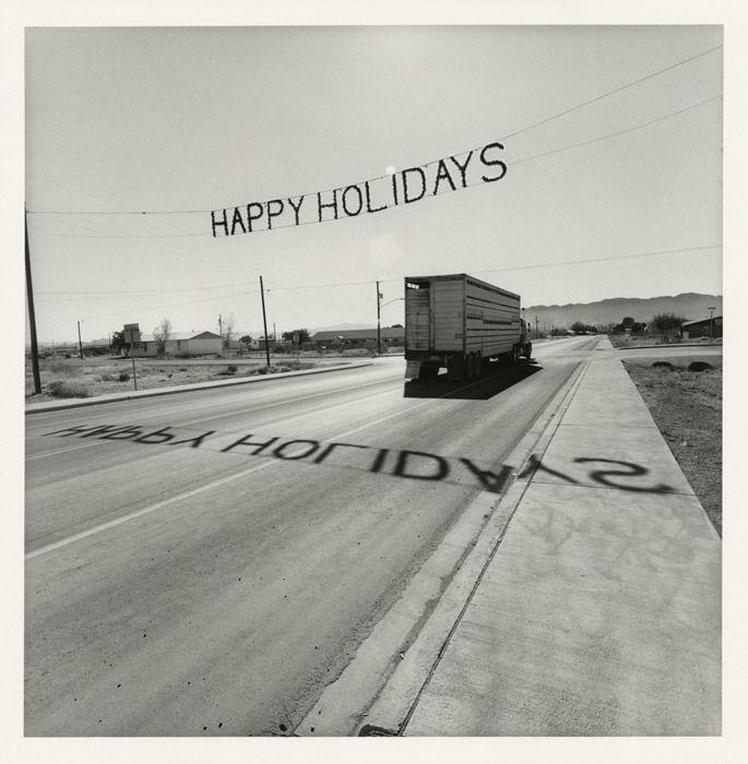 "Texas, 1997 20 x 16"" gelatin-silver print © Lee Friedlander, Courtesy of Janet Borden, Inc."