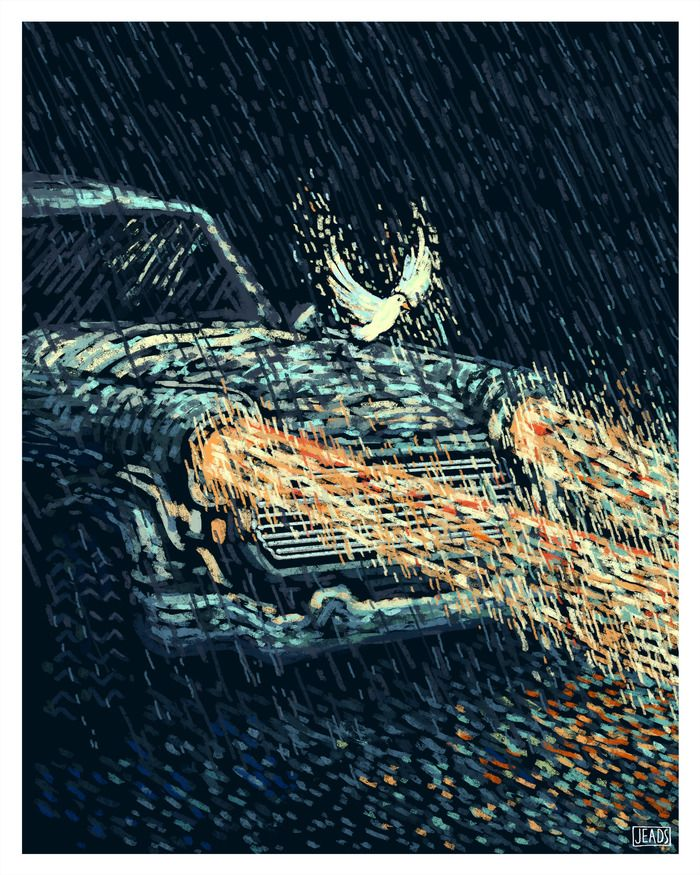 """James R. Eads » """"The Chariot"""" Prisma Visions Tarot --  If you love Tarot, visit me at www.WhiteRabbitTarot.com"""