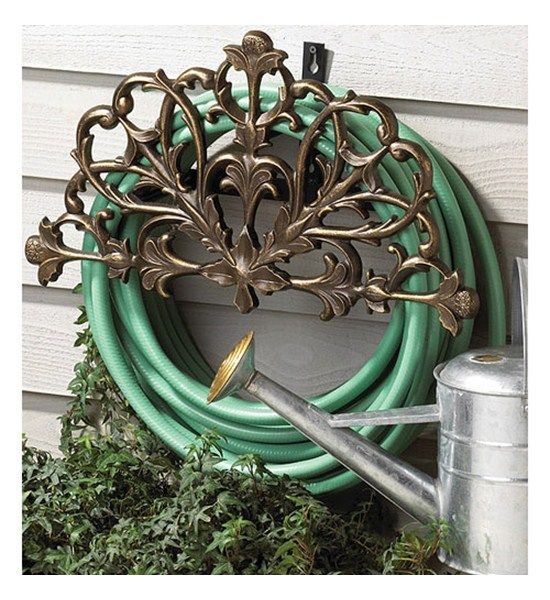 17 best ideas about Water Hose Holder on Pinterest Hose storage