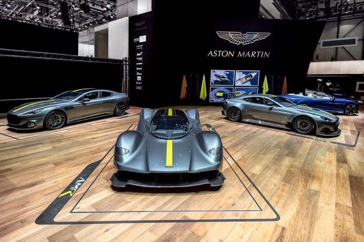 Piccolo assaggio dello stand Aston Martin al GIMS 2017