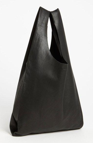Baggu® 'Medium' Leather Shoulder Bag | Nordstrom