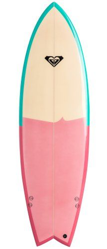 Minimal design for ROXY surfboard