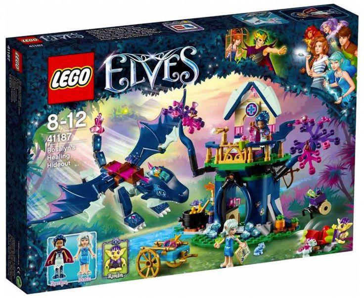 LEGO Elves 41187 : L'infirmerie cachée de Rosalyn - Juin 2017