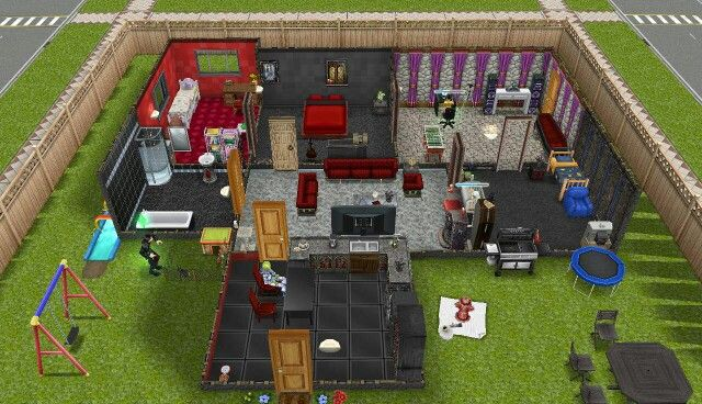 My sims freeplay vampire house the sims freeplay house designs pinterest sims vampires - Sims freeplay designer home ...
