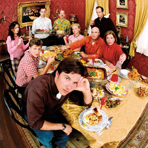 The entire Bluth family