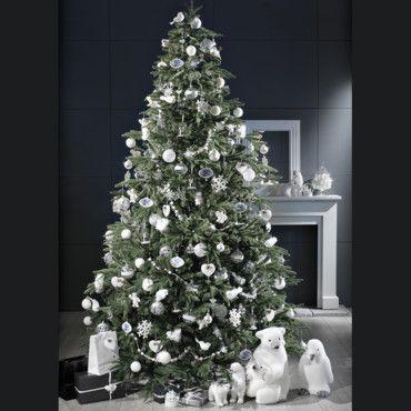 Déco de Noël : les nouveautés pour un sapin de Noël blanc