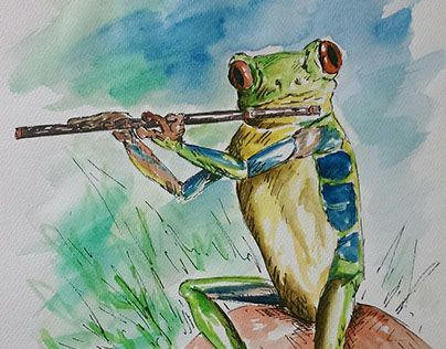 """Check out new work on my @Behance portfolio: """"Watercolor projects"""" http://be.net/gallery/34978197/Watercolor-projects"""