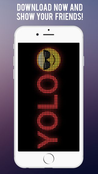 BannerIt – Emoji LED Display with save message feature