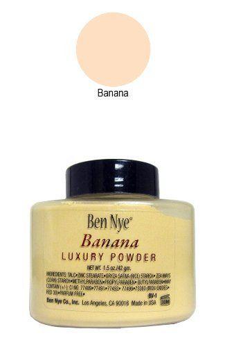 Ben Nye Luxury Powders - Banana 1.5oz - http://www.specialdaysgift.com/ben-nye-luxury-powders-banana-1-5oz/