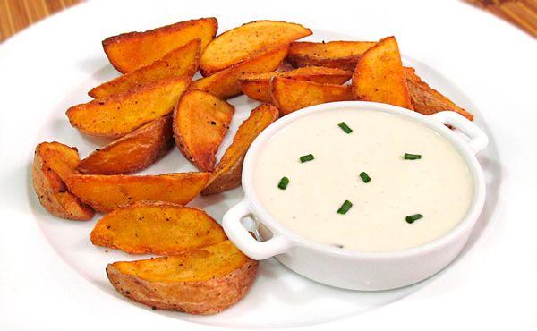 ¿Cómo hacer Patatas Deluxe del Mcdonals y la receta de su salsa?