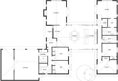 H Shaped Houses Plans House Design Plans