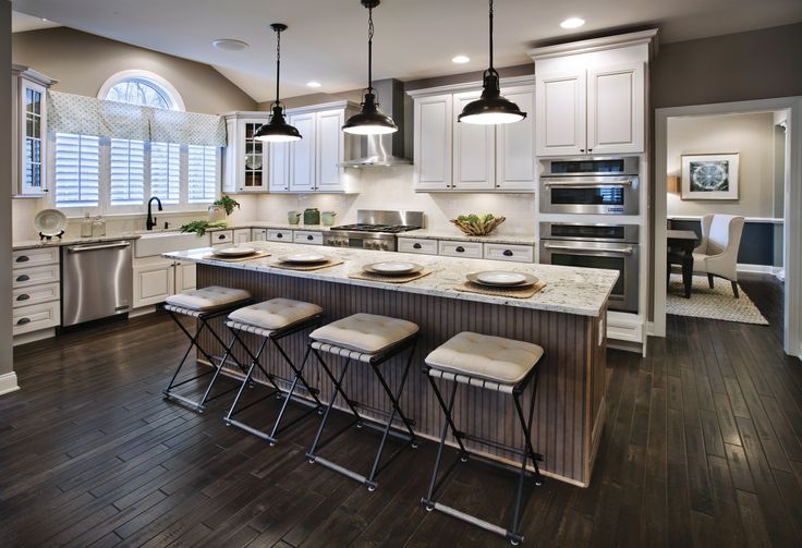 Kitchen Area Estates at Cohasset Elkton by Toll Brothers