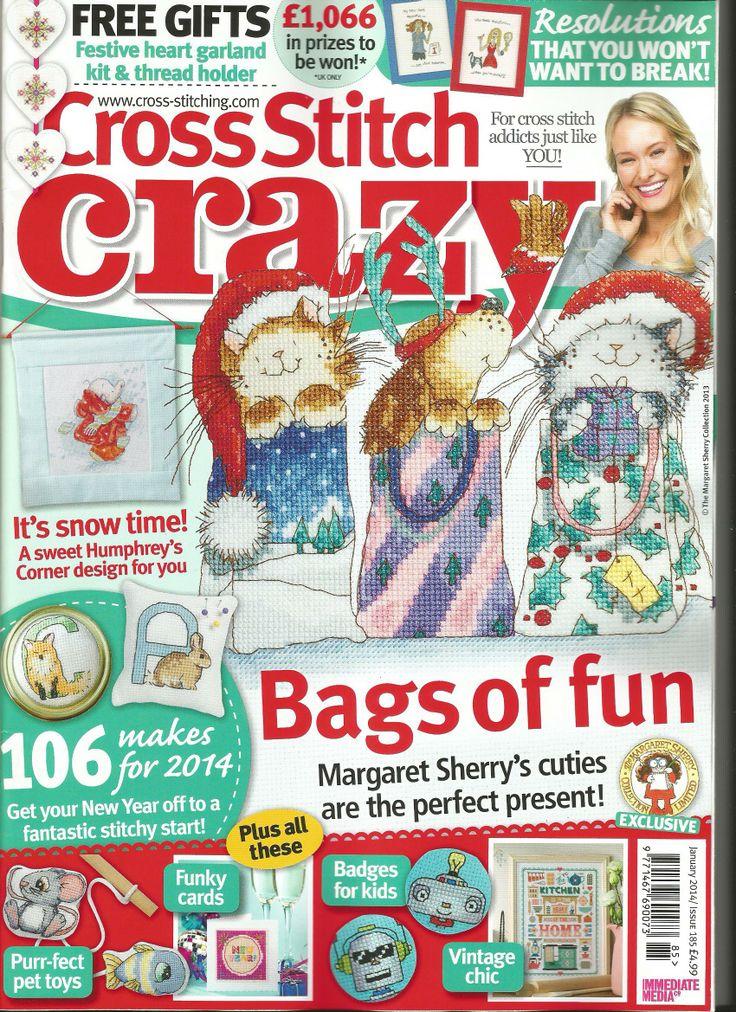 Cross Stitch Crazy issue January 2014