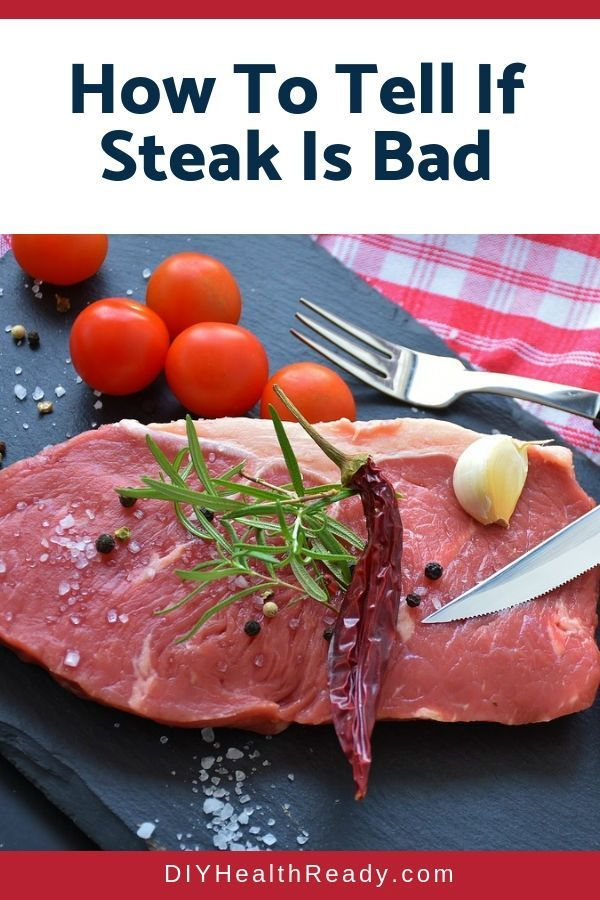 How To Tell If Steak Is Bad Meat Spoilage Information Guide Healthy Beef Recipes Raw Food Cleanse Raw Food Recipes