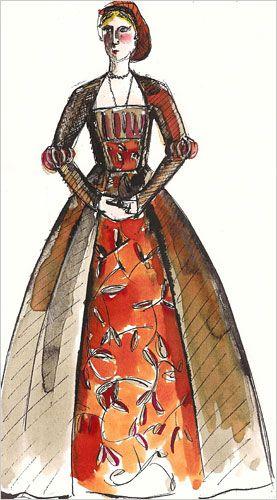 """The Other Boleyn Girl,"" designed by Sandy Powell"