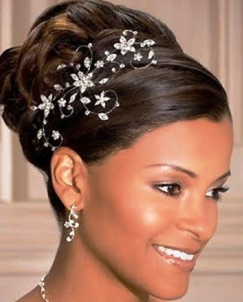 Wedding Hairstyles For Black Women African American: 401 Best Images About Hairstyle On Pinterest